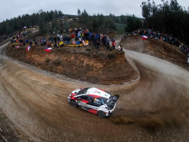 Mondiale Rally - Tanak trascina la Toyota alla vittoria in Cile