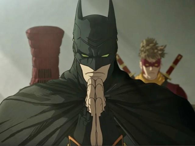 Batman Ninja: trailer del film con il Cavaliere oscuro versione anime