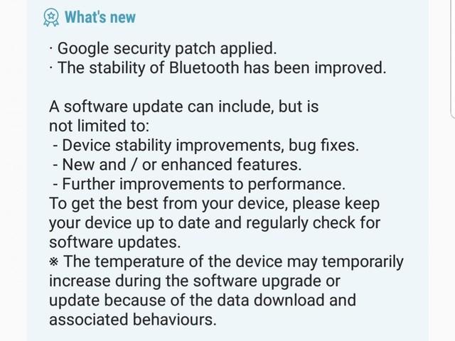 Disponibile il 5° aggiornamento beta Android Oreo per i Galaxy S8, forse l'ultimo