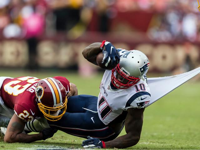 Josh Gordon Absent From Patriots' Thursday Practice