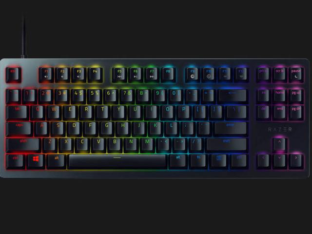 Razer Huntsman Tournament Edition con switch opto-meccanici lineari