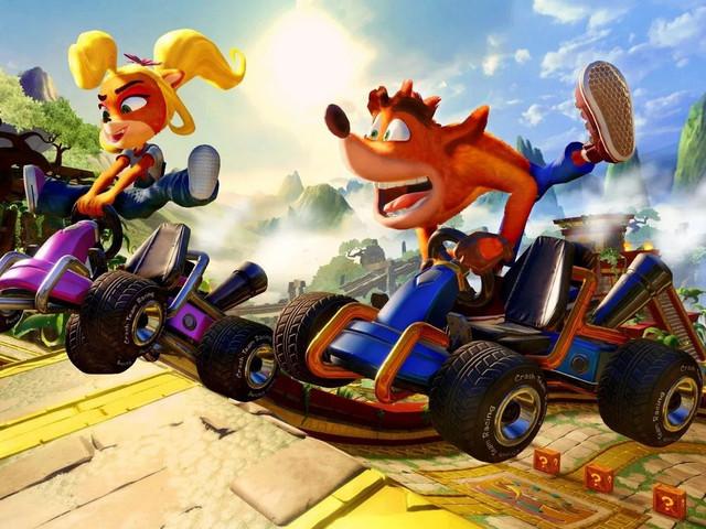 Crash Team Racing Nitro Fueled sfreccia su PS4, Xbox One e Nintendo Switch