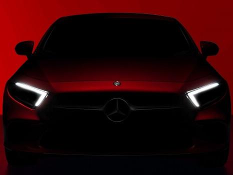 Mercedes CLS, i teaser della nuova generazione
