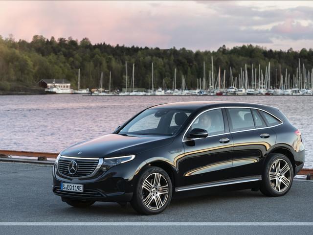 Nuova Mercedes-Benz EQC : l'elettrica per le vacanze