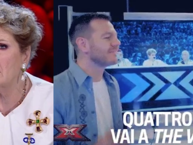 Cattelan e la stoccata a The Voice durante X Factor