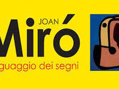 Joan Mirò, grande mostra a Napoli con ottanta opere del maestro