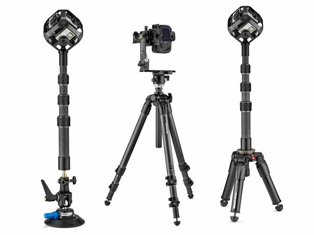 Manfrotto lancia la gamma di accessori per realizzare video a 360°