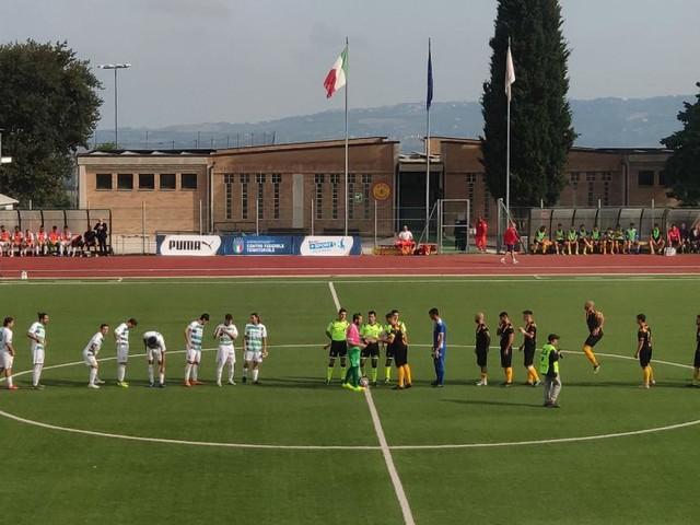 Serie D, un gran goal di Borrelli fa volare la Recanatese: 1-0 all'Avezzano