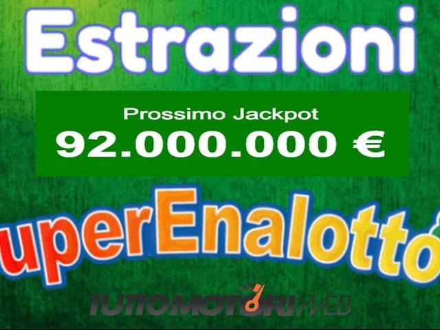 Estrazioni Lotto e SuperEnalotto di oggi Giovedì 17 Gennaio – Video