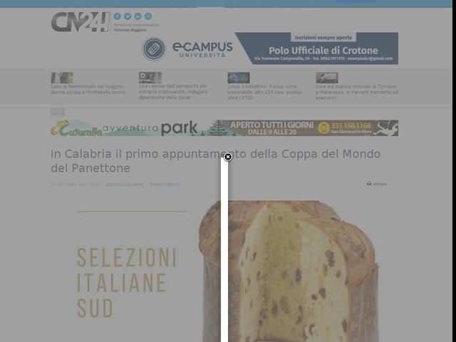 In Calabria il primo appuntamento della Coppa del Mondo del Panettone