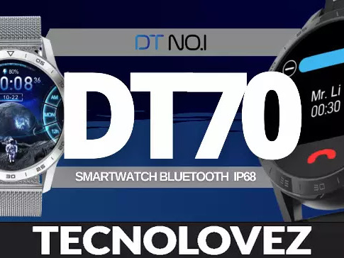 DT NO.1 DT70 - Smartwatch economico elegante dal prezzo competitivo