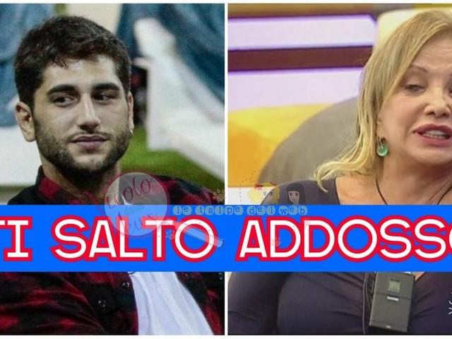 """#GFVIP Una lunga notte di liti nella casa: Jeremias Rodriguez perde la testa e insulta Simona Izzo """" ti salto addosso""""…ecco cosa è accaduto"""