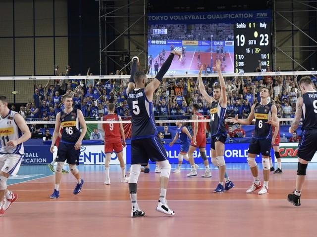 Volley maschile, l'Italia batte la Serbia 3-0 e si qualifica alle Olimpiadi