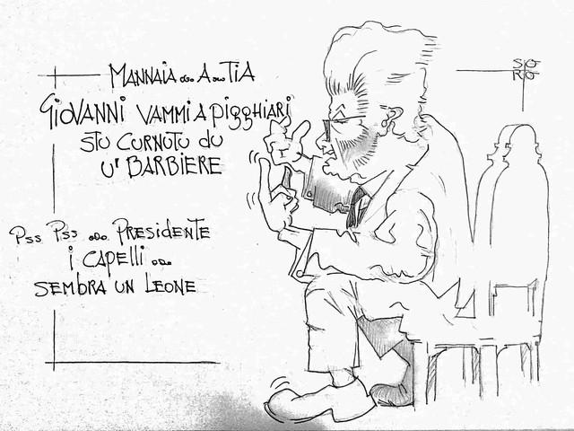 La vignetta del giorno: cercasi barbiere per Mattarella