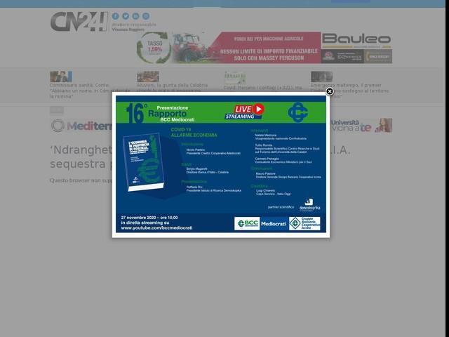 'Ndrangheta. Scacco ai beni di Vincenzo Pesce: D.I.A. sequestra patrimonio di 2 mln