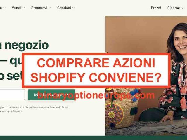 Dove e come comprare azioni Shopify [2021] Previsioni grafico