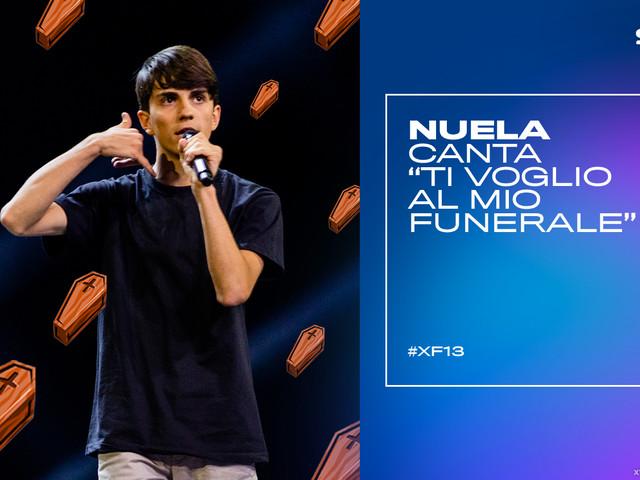"""Nuela canta """"Ti voglio al mio funerale"""" al Bootcamp di X Factor VIDEO"""