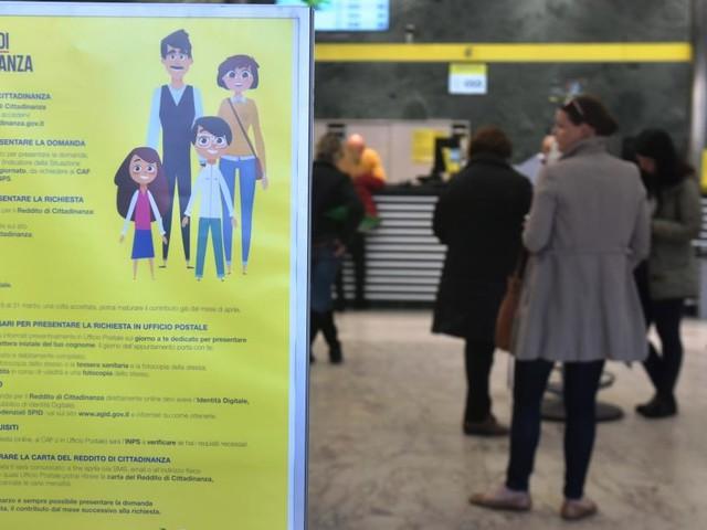 Reddito, tra 40 e 50 euro la somma ricevuta dal 7% dei primi beneficiari
