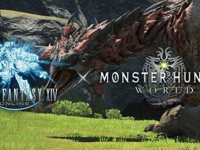 Un punto d'incontro tra FFXIV Online e Monster Hunter World