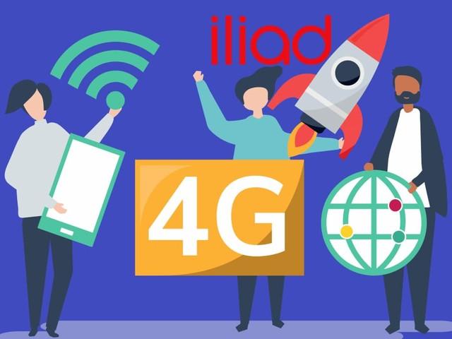 Rete iliad: il primo semestre 2020 si chiude con quasi 4.000 impianti 4G attivi e un giugno da record