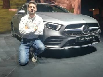 Mercedes Classe A in video dal Salone di Francoforte 2019