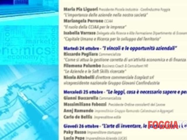 Il Liceo 'Poerio' di Foggia ospita la 'Settimana dell'Economia'