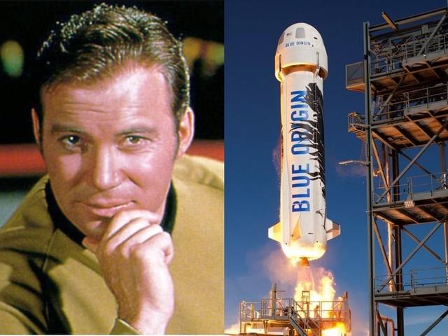 L'indiscrezione sul prossimo volo di Blue Origin: uno dei turisti spaziali potrebbe essere il capitano Kirk di Star Trek