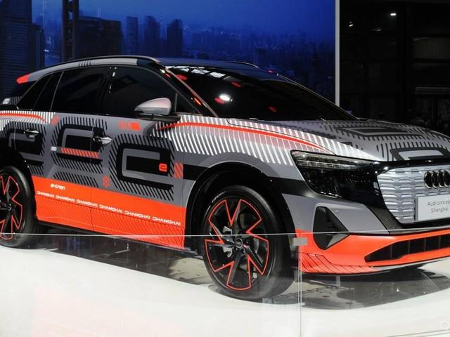 Audi - A Shanghai spunta il prototipo di una Suv elettrica