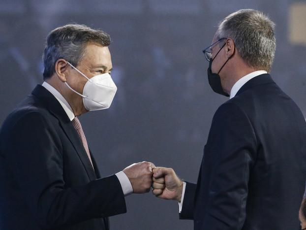 Lavoro: lunedì 27 settembre Draghi incontra sindacati