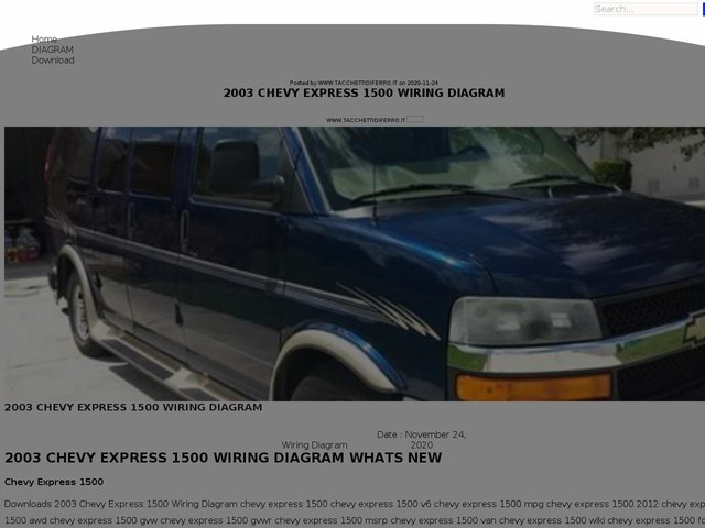 Chevy Express 1500 Wiring Diagram