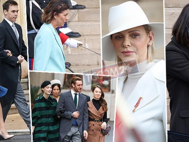 La famiglia reale di Monaco in festa per il National Day, ma tra Charlene e Carolina c'è il gelo