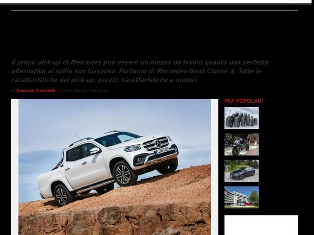 Mercedes-Benz Classe X: il nuovo modo di concepire il pickup, prezzi, caratteristiche e motori [FOTO]