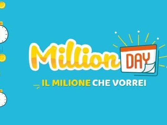 Estrazione Million Day oggi 3 Agosto: risultati DIRETTA