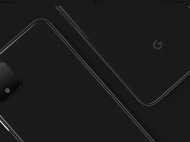 Google mostra il Pixel 4 su Twitter