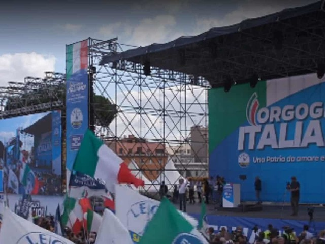 Manifestazione Piazza San Giovanni: diretta streaming Salvini – VIDEO