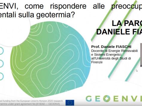Geoenvi, come rispondere alle preoccupazioni ambientali sulla geotermia? La parola a Daniele Fiaschi