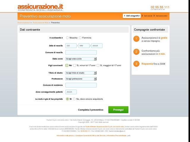 Preventivo assicurazione moto: confronta i preventivi di più compagnie d'assicurazioni | Assicurazione.it
