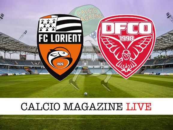 Ligue 1, Lorient – Dijon: diretta live, risultato in tempo reale
