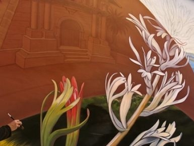 I meravigliosi murales floreali di San Francisco