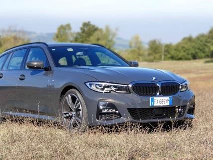 BMW Serie 3 Touring: prova su strada della 320d