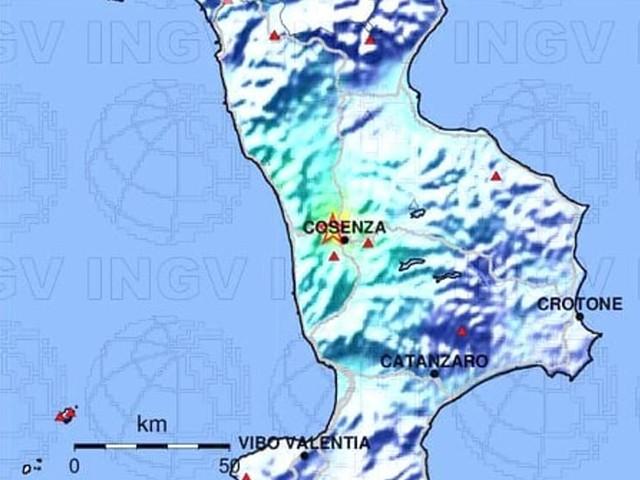 Terremoto di magnitudo 4.4 a Cosenza: le ultime notizie