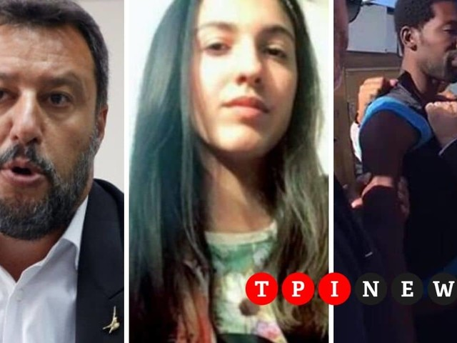 """""""Taci infame"""": il tweet di Salvini contro il ghanese accusato dell'omicidio di Desirée Mariottini"""