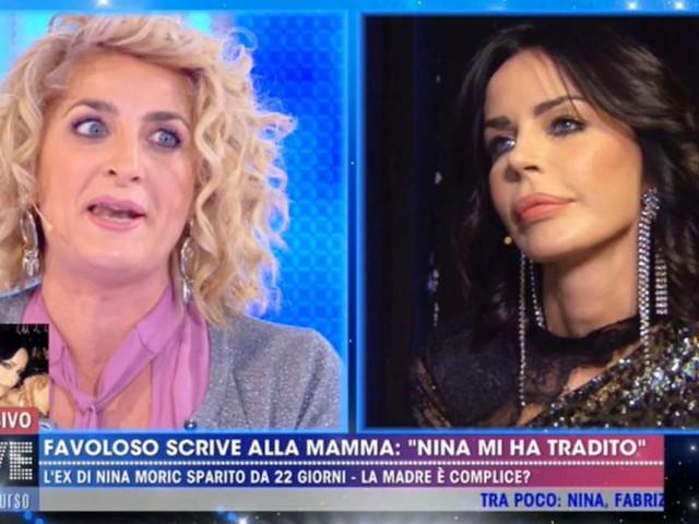 La madre di Favoloso accusa Nina Moric di mentire, lei replica: 'Stai sbagliando'