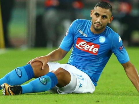 Napoli, ansia Ghoulam per il ginocchio: si cura negli Usa, club irritato