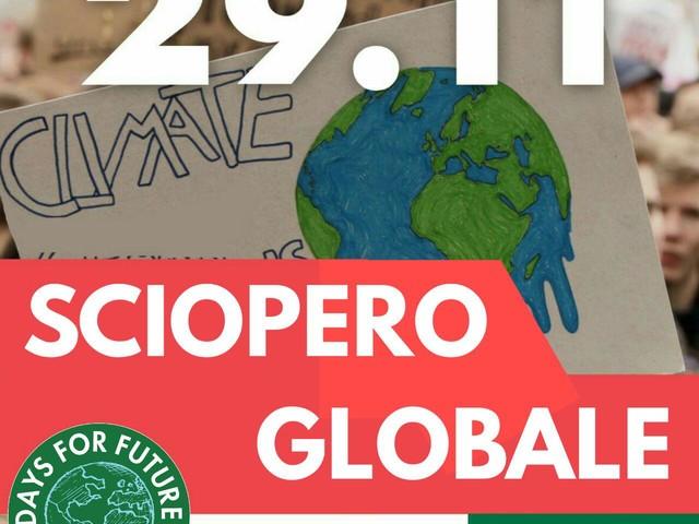 Altro che Black friday, domani torna lo sciopero globale per il clima