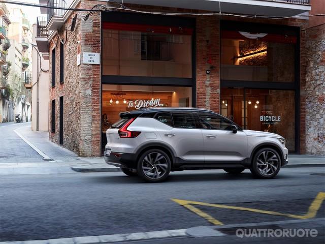 Volvo XC40 - Lancia la sfida alle Suv compatte premium
