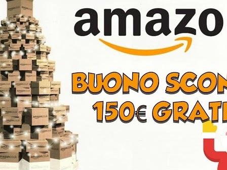 Buono regalo Amazon da 150€ gratis - guida per riceverlo