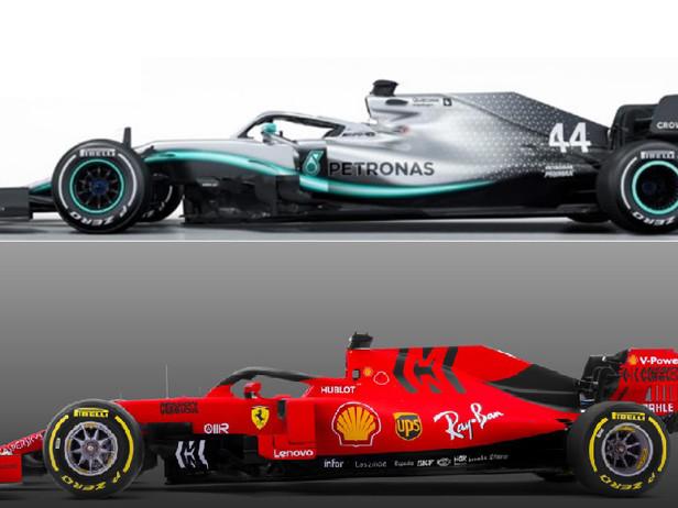 Ferrari-Mercedes a confronto: la sfida è iniziata