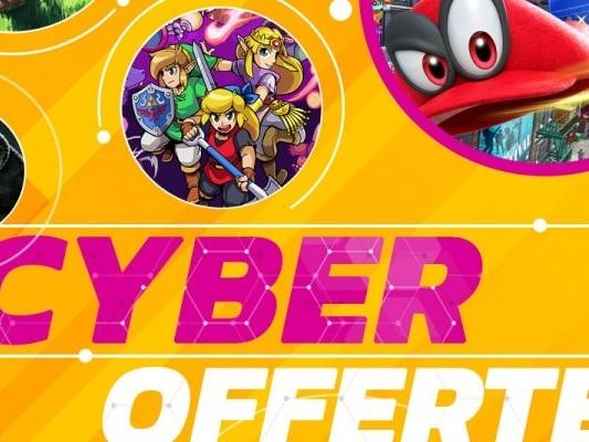 Nintendo Switch, sconti Black Friday ufficiali con le Cyber Offerte 2019 su oltre 150 giochi e altro - Notizia