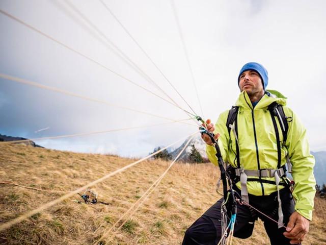 Julien Irilli tenta la traversata invernale delle Alpi